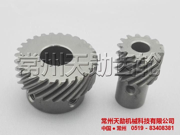 圓柱(zhu)斜齒輪